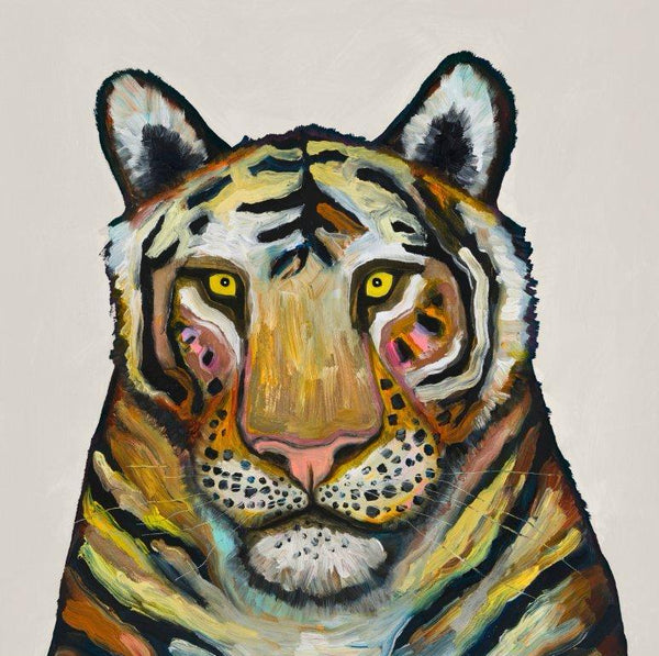 Tiger on Cream - Giclée Print