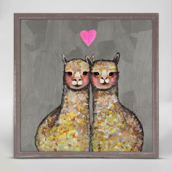 "Alpaca Love Mini Print 6"" x 6"""