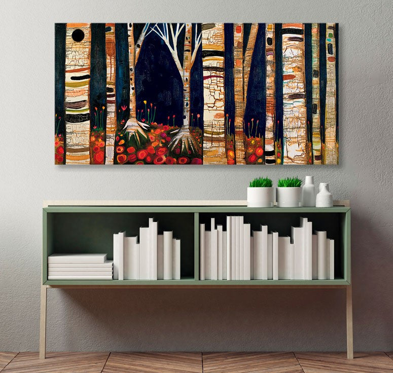 Birch Trees - Giclée Print