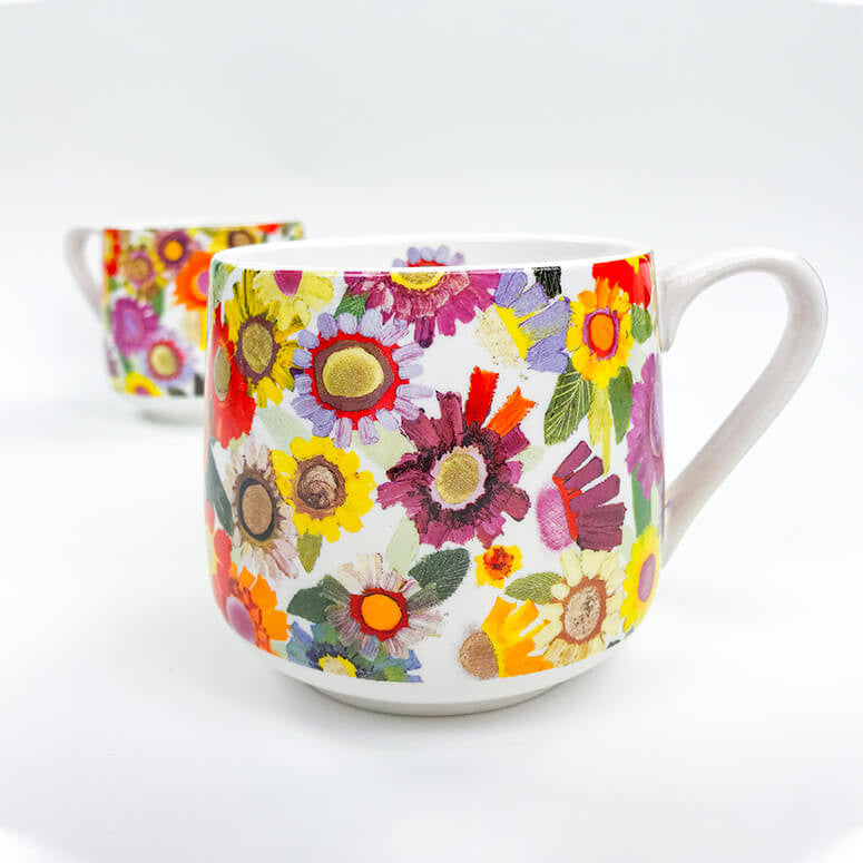 Blooms Coffee Cup