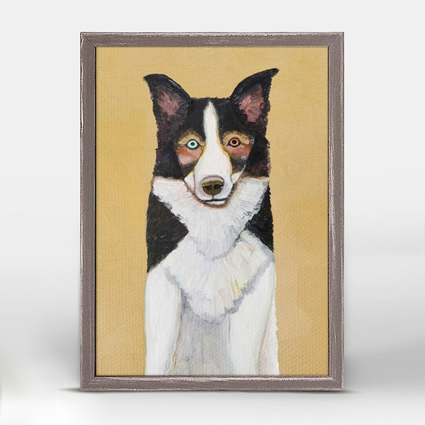 "Border Collie Mini Print 5"" x 7"""
