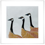 Canadian Geese in Dusk - Giclée Print