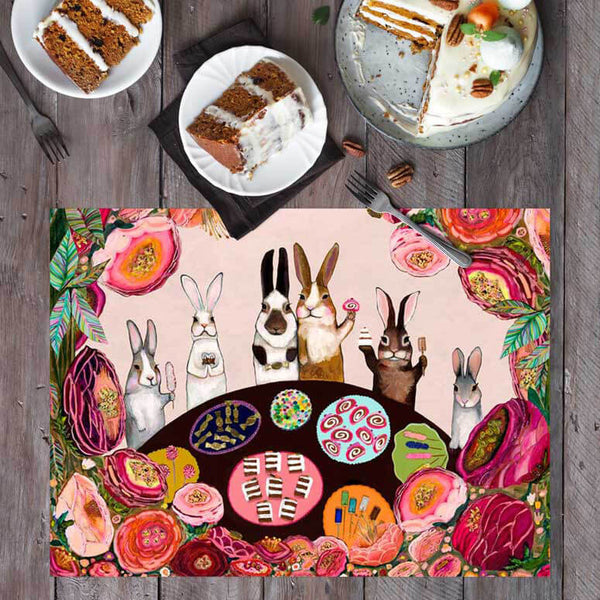 "Carrot Cake Placemat 19"" x 14"""
