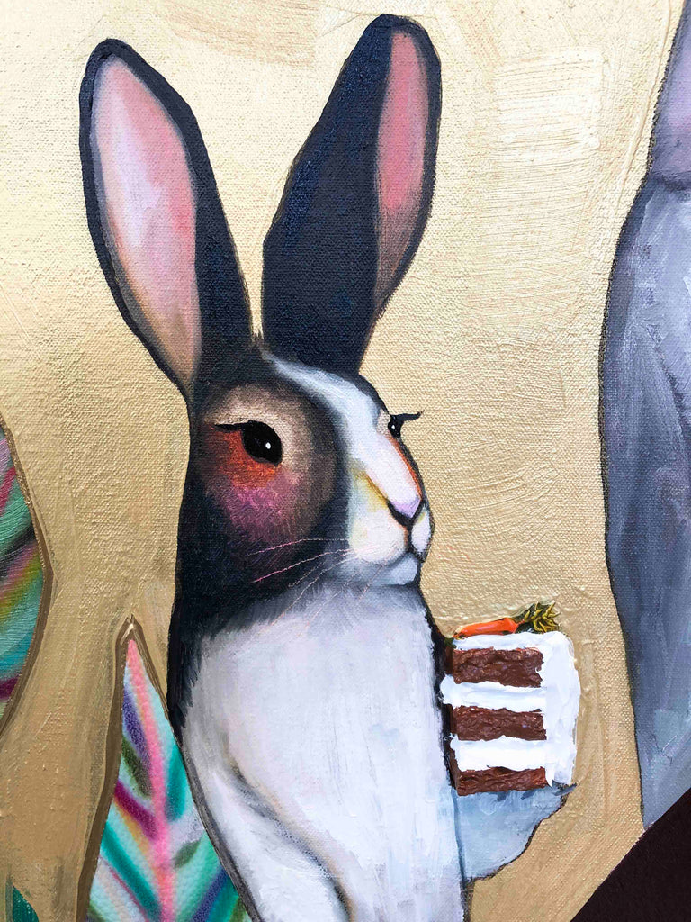 Carrot Cake - Oil Painting