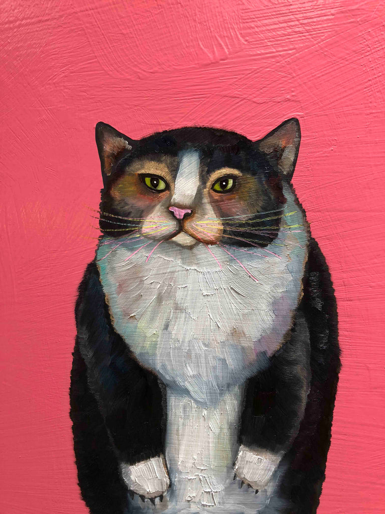 Cats - Oil Painting
