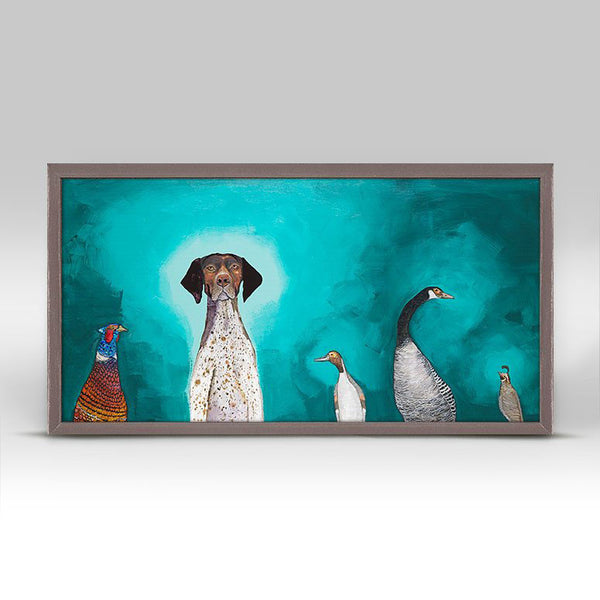 "German Shorthaired Pointer Mini Print 10"" x 5"""