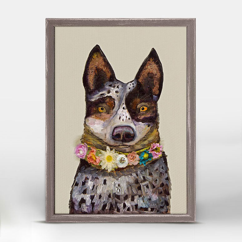 "Cattle Dog Mini Print 5"" x 7"""