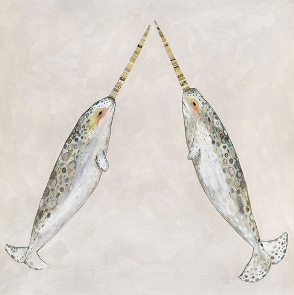 Narwhal Duo - Giclée Print