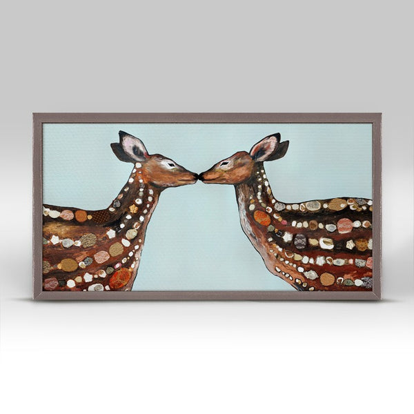 "Deer Love Mini Print 10"" x 5"""
