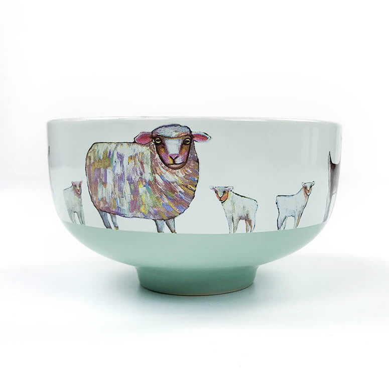 Farm Friends Frolic Decorative 23 oz. Bowl