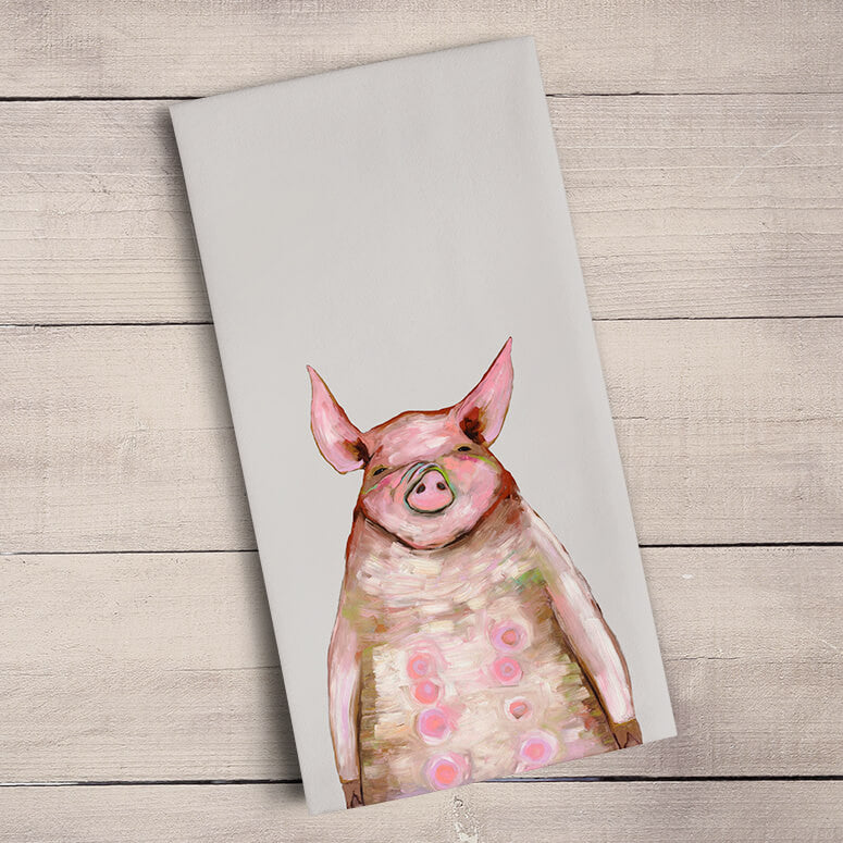 Baby Piglets Tea Towel