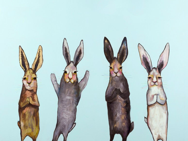 Four Bunnies - Giclée Print
