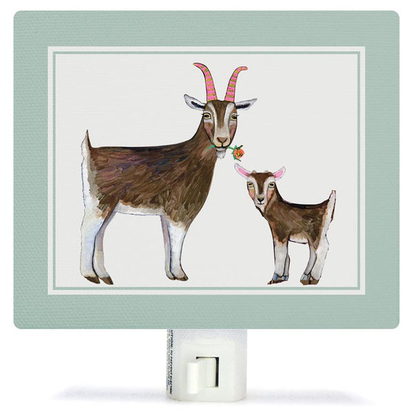 Goat with Baby Goat Night Light