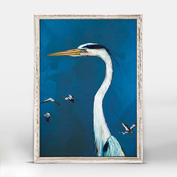 "Great Blue Heron Mini Print 5"" x 7"""