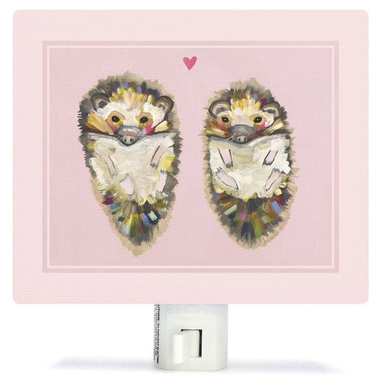 Hedgehog Love Night Light