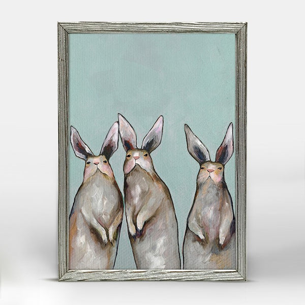 Mini Print Silver Frame – Oil Paintings by Eli Halpin