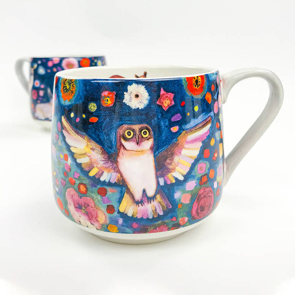 Into the Woods Porcelain Cup 14 oz.