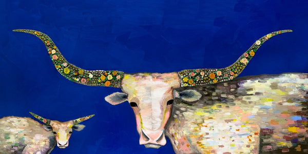 Little Longhorn Baby - Signed Giclée Print