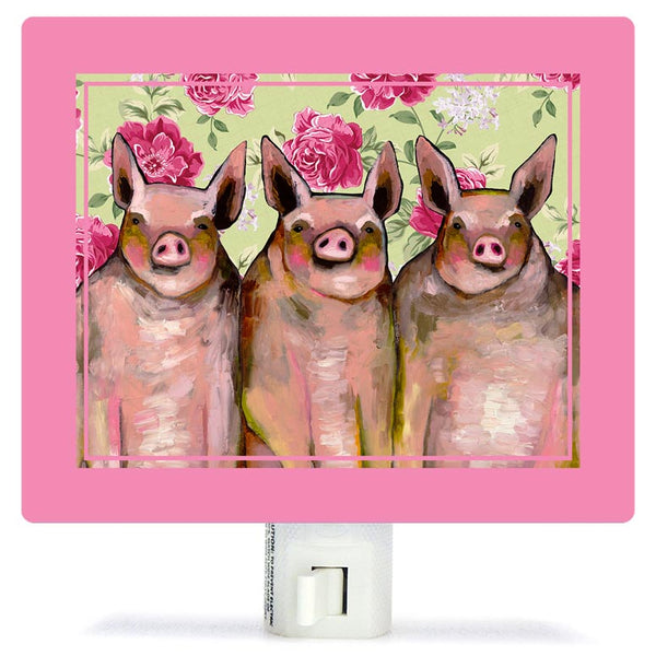 Little Piggies Night Light