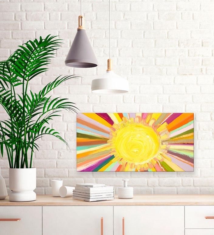 Little Sunshine Detail - Giclée Print