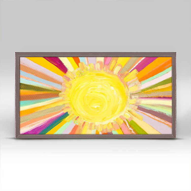 "Little Sunshine Mini Print 10"" x 5"""