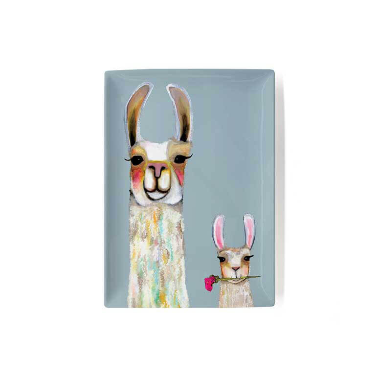 Llama Friends Decorative Dish
