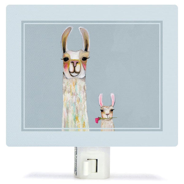 Llama Mama and Baby Night Light