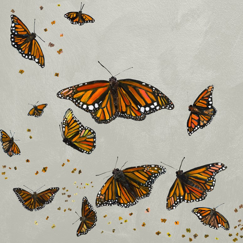 Monarchs in Misty Clouds - Giclée Print