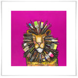 Paintbrush Lion - Giclée Print