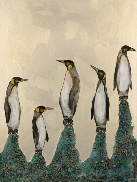 Penguin Colony - Giclée Print