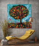 Pomegranate Tree - Giclée Print