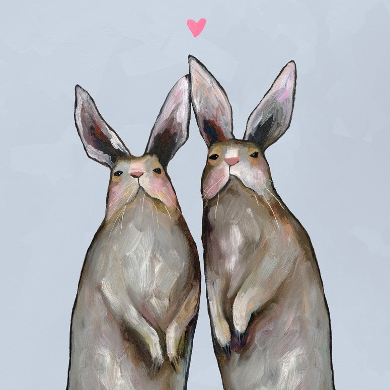 Rabbit Love - Giclée Print