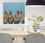 Roosters - Giclée Print
