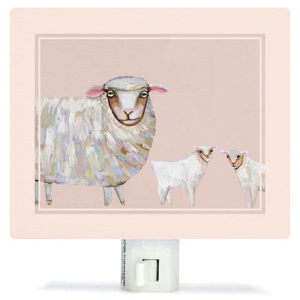 Sheep and Babies Night Light