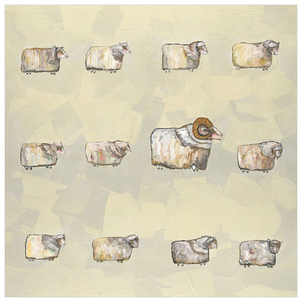 Sheep Flock - Giclée Print