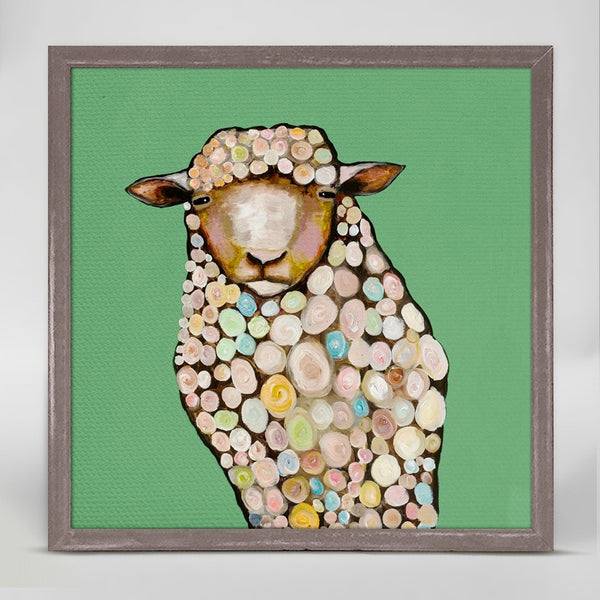 "Sheep Mini Print 6"" x 6"""