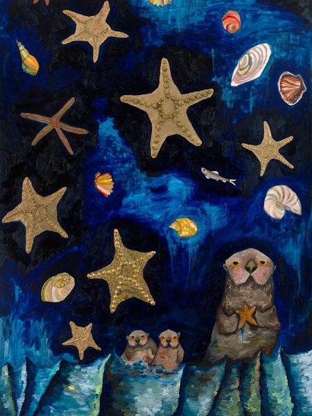Starfish Bedtime Stories - Giclée Print