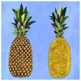 Tropical Pineapple Pair - Giclée Print