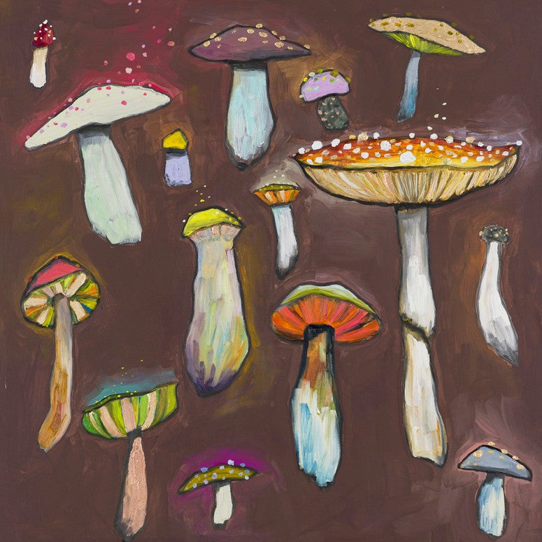 Wild Mushrooms - Giclée Print