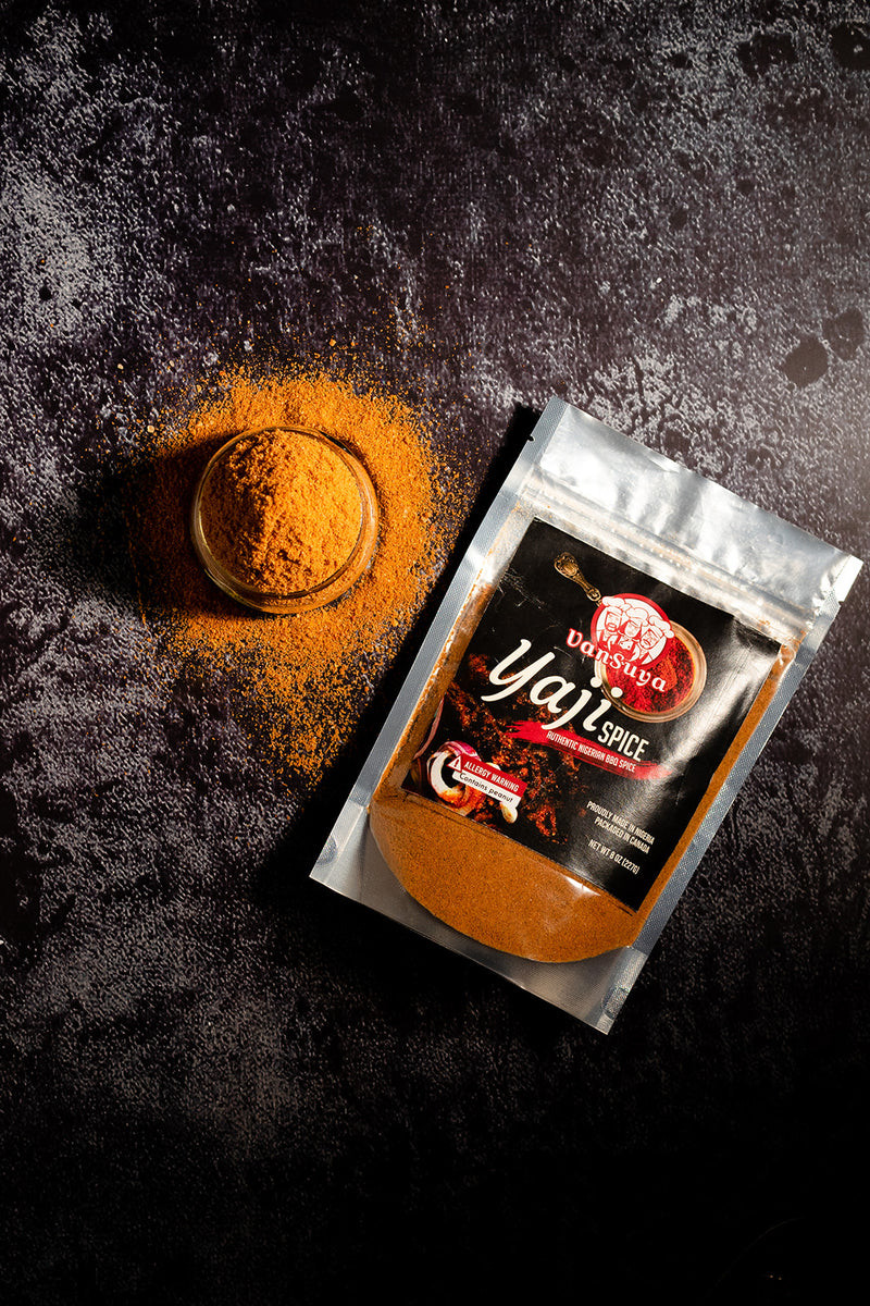 VanSuya Yaji Spice (Authentic Suya Spice)