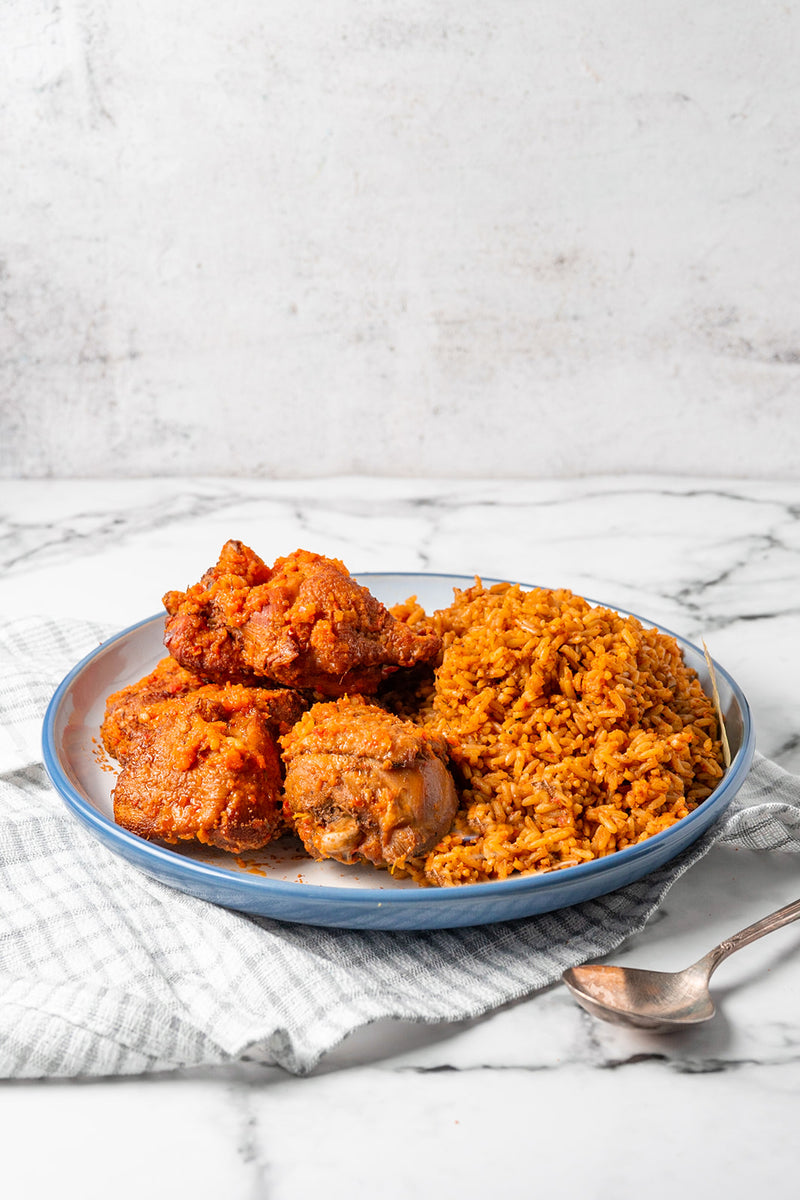 Naija Smokey Jollof Rice
