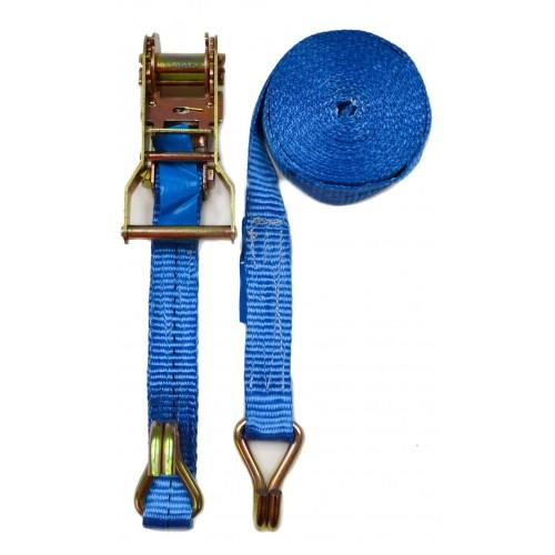 Ratchet Strap C/W Double Hook 1.5t - Trade 4 Less - Building Supplies UK