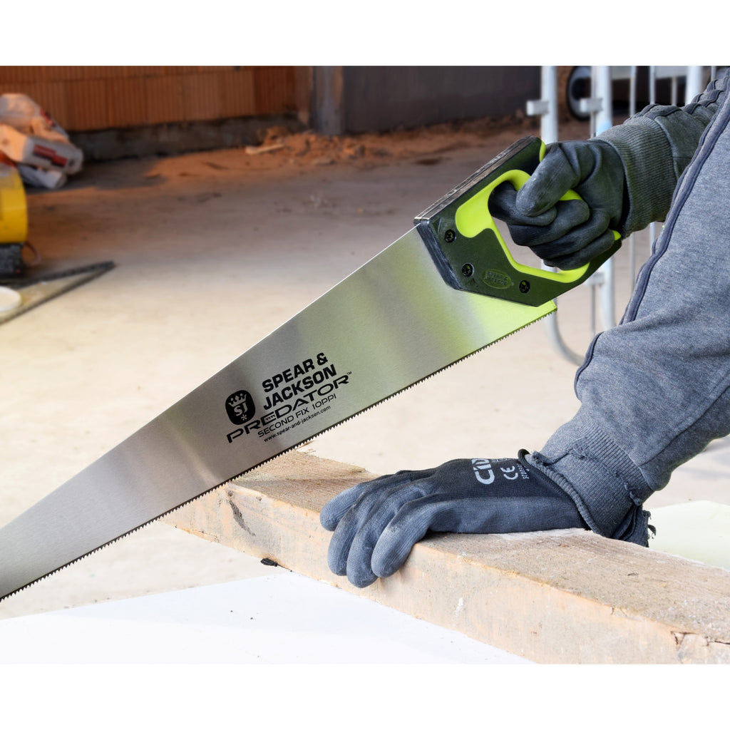 Spear & Jackson Predator 2nd Fix Handsaw 22inch - Trade 4 Less - Building Supplies UK