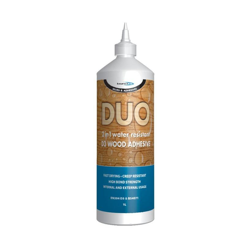 Duo 2 in 1 Wood Adhesive - Trade 4 Less - Building Supplies UK