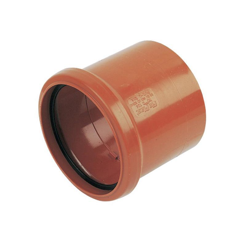 110mm Pipe Coupling Single Socket - Trade 4 Less - Building Supplies UK