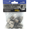 Leadax Fixing Clips Pack Of 50 - Trade 4 Less - Building Supplies UK