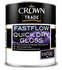 Crown Trade Fastflow Quick Dry Gloss 5L - Trade 4 Less - Building Supplies UK