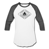 Baseball T-Shirt - white/charcoal