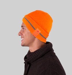 Dual Layered High Visibility Reflective Bluetooth Beanies - Blu-Toque 2017
