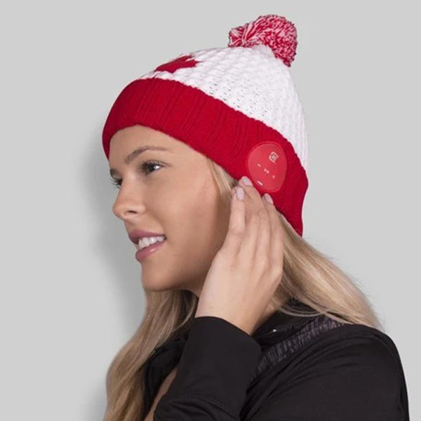 Blu Toque Bluetooth Beanie - Canada Maple Leaf